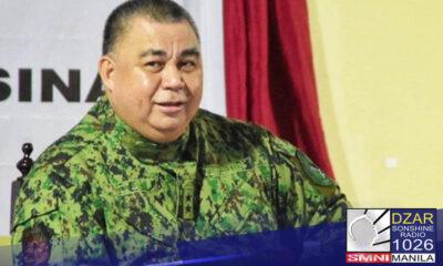 Balik-trabaho na si PNP chief Police General Debold Sinas matapos makumpleto ang dalawang linggong quarantine dahil sa COVID-19.
