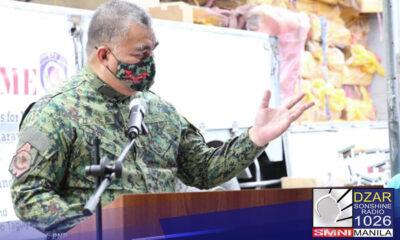Aabot sa 252 personnel ang inalis sa pwesto simula nang umupo bilang Philippine National Police(PNP) chief si Police Gen. Debold Sinas.