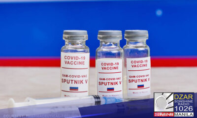 Bibili ang Pilipinas ng 3 milyong doses ng Sputnik V COVID-19 vaccine ng Russia.