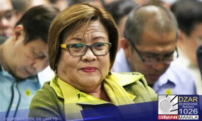 Nagpahayag ng pagkabahala sa kalagayan ng nakakulong na si Senador Leila De Lima ang 27 miyembro ng UK parliament.