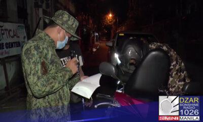 Magsisimula na sa Lunes, Marso 15 ang uniform na curfew hours sa Metro Manila.