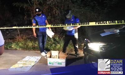 Patay ang 2 suspek matapos umanong manlaban sa buy-bust operation sa Taytay, Rizal.