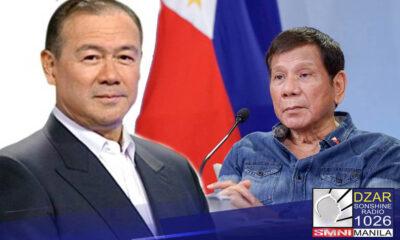 Tanging ang kinatawan ni Pangulong Rodrigo Duterte mula sa DFA ang makadadalo sa pagpupulong ng mga lider ng ASEAN summit