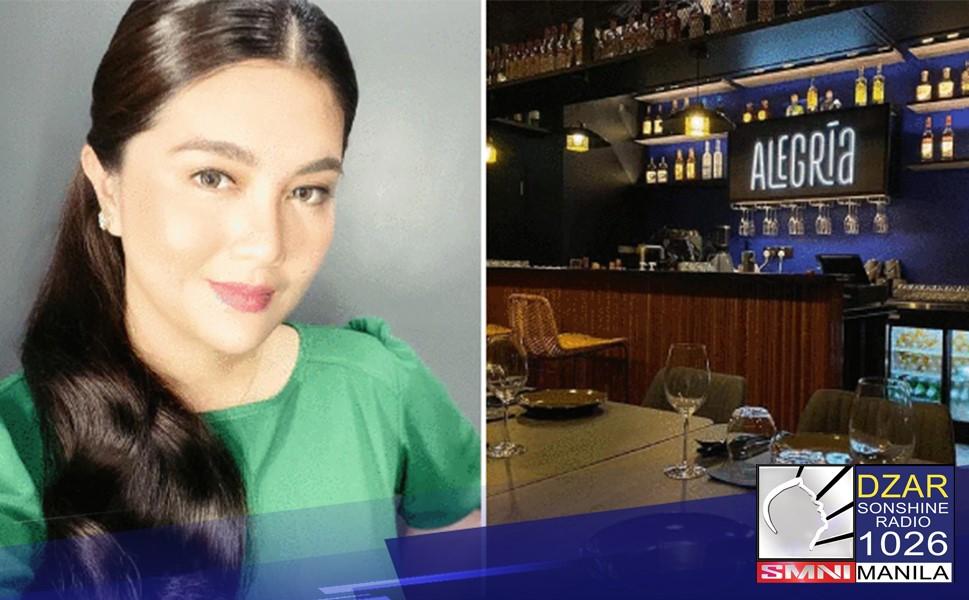 Dimples Romana, nagbukas ng restaurant sa Singapore