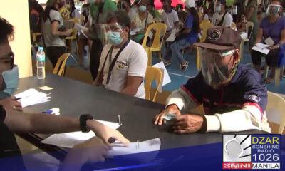 Tapos na sa pagbibigay ng Enhanced Community Quarantine (ECQ) ayuda ang Barangay Kamuning sa Quezon City.