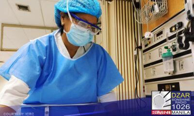 Magpapadala ng Department of Health (DOH) ng 50 health workers mula sa Visayas patungong Metro Manila para mapunan ang kakulangan ng health workers sa National Capital Region.