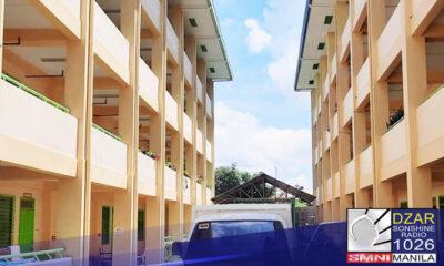 Mahigit isang libong paaralan ang ginagawang isolation facility para sa mga COVID 19 patients.