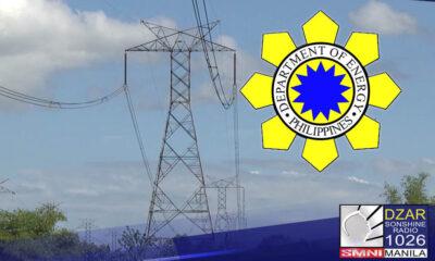 Tiniyak ng Department of Energy (DOE) na sapat ang suplay ng kuryente ngayong tag-init.