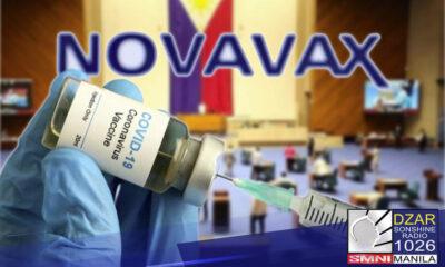 Nasa 60,000 doses ng Novavax o bakuna ng Serum Institute na gawa ng India ang gagamitin ng Kamara para sa kanilang vaccination drive.