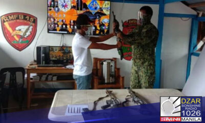 Sumuko sa pulisya ang squad leader ng New People's Army (NPA) sa Mountain Province.