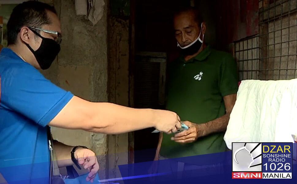 Mahigpit na ipinagbabawal ang paggamit sa pangalan at larawan ng isang politiko sa pamamahagi ng ayuda sa mga naapektuhan ng ECQ.