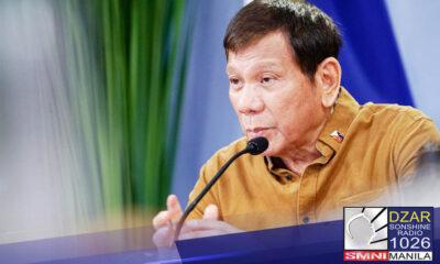 Iginiit ni Pangulong Rodrigo Duterte na dedepensahan niya ang mga opisyal sa ilalim ng kanyang gabinete sakaling may kumuwestiyon sa mga paggastos ng mga ito sa pera ng bayan.