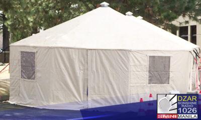 Iimbestigahan ng PhilHealth ang hindi pinangalanang hospital na nagpapabayad ng ₱1, 000 kada oras sa mga pasyente na namalagi sa hospital tents nito.