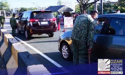 Pinaigting ng Philippine National Police - Highway Patrol Group(PNP-HPG) ang operasyon sa pagbiyahe ng non-APOR papunta at mula sa NCR Plus bubble.