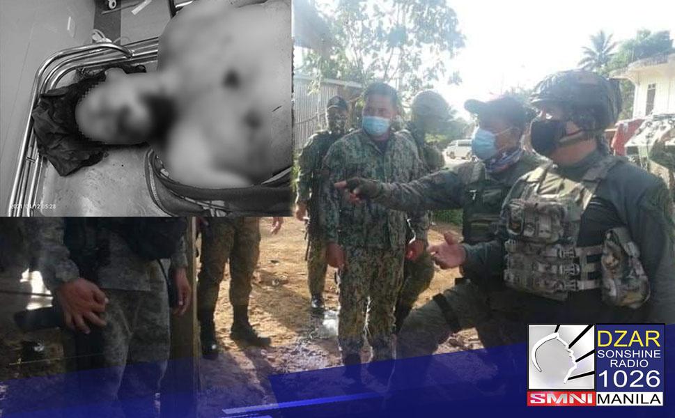 Patay ang isang lider ng Dawlah Islamiyah matapos ang operasyon sa Lanao del Sur ngayong araw.