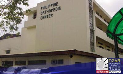 Mananatiling bukas ang Philippine Orthopedic Center (POC) para sa 'orthopedic emergency' matapos magpositibo sa COVID-19 ang 117 sa 180 na isinailalim sa test na empleyado.