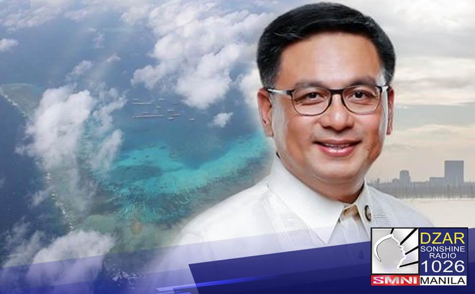 Patuloy na hinimok ni Muntinlupa City Representative Ruffy Biazon ang pamahalaan na ipagpatuloy ang pagprotesta laban China sa West Philippine Sea (WPS).