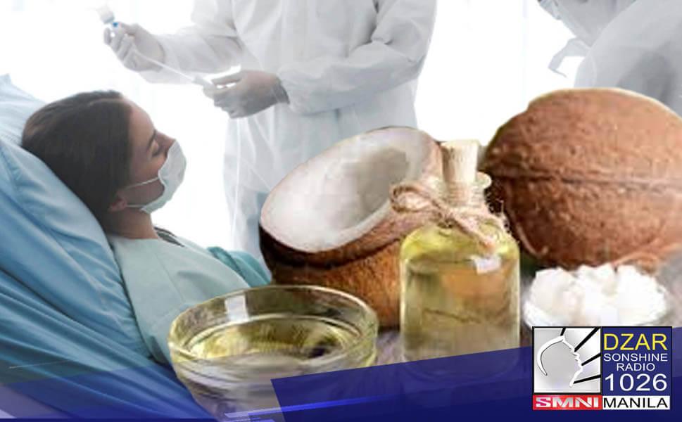 Sinimulan na ng Inter-Agency Task Force (IATF) ang pamamahagi ng virgin coconut oil (VCO) nitong Miyerkules sa mga ospital sa Metro Manila.