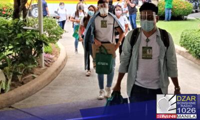 Tinatayang aabot sa ₱70,000 ang kabuuang insentibo na tatanggapin ng mga doktor at nurse na nag volunteer tumulong sa National Capital Region(NCR)