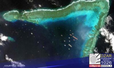 Malinaw na kinokontrol ng China ang teritoryo sa West Philippine Sea sa pamamagitan ng pagpapadala ng kanilang mga barko sa lugar.