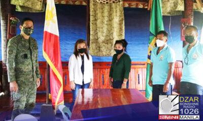 Sumuko sa militar ang Secretary General ng Karapatan Quezon.