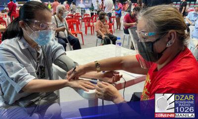 Tama ang programa ng pamahalaan na unahin ang mga may comorbidities lalong-lalo na ang high blood o diabetes sa pagpapabakuna.