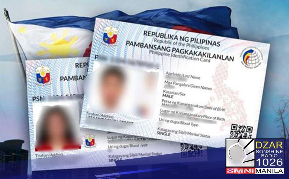 Unang araw ng online registration para sa National ID, nagkaproblema