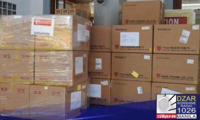 Tumanggap ang Department of National Defense (DND) at Armed Forces of the Philippines (AFP) ng donasyong test kits mula sa Singapore Defense Ministry.