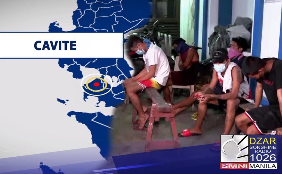 Inalis na sa puwesto si General Trias City, Cavite chief of police matapos affidavit ng ibang quarantine violators na nagpataw ng physical punishment.