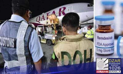 Mariing itinanggi ng Bureau of Customs (BOC) na sila ang nagiging dahilan kaya naaantala ang proseso at releasing ng Remdesivir Medicine
