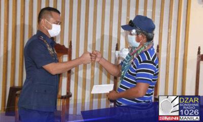 Sumuko ang tatlong miyembro ng communist terrorist sa Davao City.