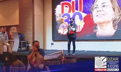 Dumistansya ang Malakanyang sa inilunsad na 'Duterte Pa Rin movement' na naghihimok kay Davao City Mayor Sara Duterte na tumakbo sa panguluhan.