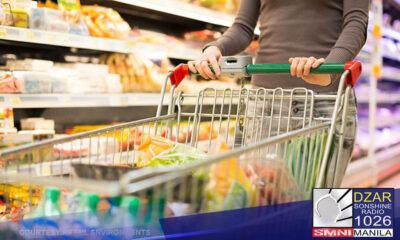 Nanatili sa 4.5% ang headline inflation o ang pagtaas ng presyo ng mga produkto at serbisyo sa bansa nitong Abril 2021.