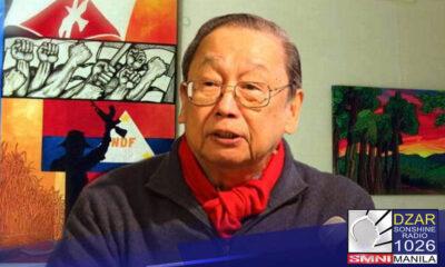 Nagkaisa ang mga dating high ranking officials ng New People's Army (NPA) para mag sampa ng kasong kriminal sa Department of Justice(DOJ)