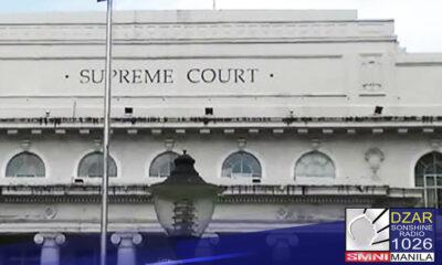 Temporary facility para sa mga judicial employees na asymptomatic at may mild COVID case, inilagay sa compound ng Korte Suprema