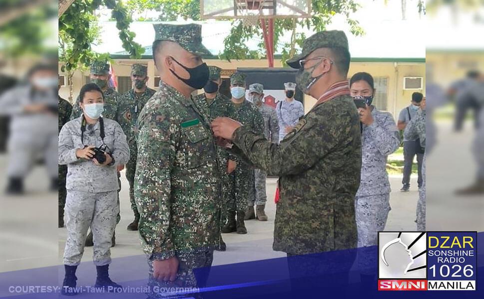 PRRD, binigyan ng pabuya ang mga marino na nakapatay sa Abu Sayyaf leader