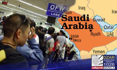 Tinalakay ng pinuno ng Pilipinas at Saudi Arabia ang patungkol sa Kafala system at karapatan ng mga Pilipino na makatanggap ng bakuna kontra COVID-19.
