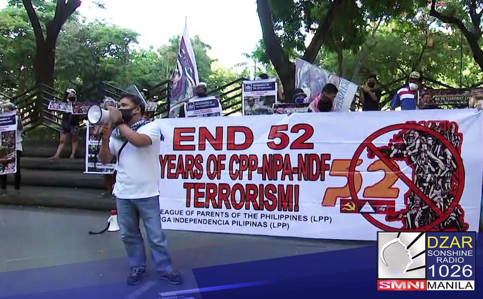 Pauwiin at panagutin.Ito ang muling panawagan ng mga anti-communist group sa Dutch Government laban kay (CPP) founder Jose Maria Sison.