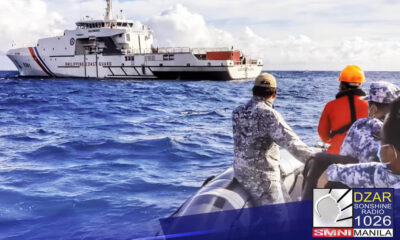 Pumalaot at naglayag sa Kalayaan Group of Islands ang ilang mga opisyal at miyembro ng Philippine Coast Guard (PCG) bilang paggunita ng National Flag Day