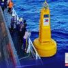 Kinumpirna ng Philippine Coast Guard (PCG) na naglagay sila ng tatlong makabagong ocean bouys o mga boya sa Philippine Rise o dating tinatawag na Benham Rise.