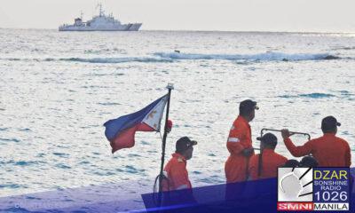 Walang alisan!Ganito nanindigan si Defense Secretary Delfin Lorenzana sa opisyal na pahayag nito hinggil sa pinag-aagawang teritoryo sa West Philippine Sea.