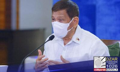 Inihayag ni Pangulong Rodrigo Duterte na gagamitin pa rin nito ang COVID-19 vaccines na ibibigay sa Pilipinas kahit manggagaling man ito sa China.
