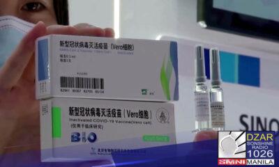 Posibleng hindi na ibabalik ang 1,000 doses na bakunang Sinopharm oras na mabibigyan na ito ng Emergency Use Authorization (EUA).