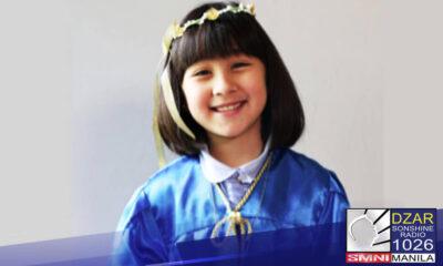 Scarlet Snow Belo, nagtapos na ng preschool