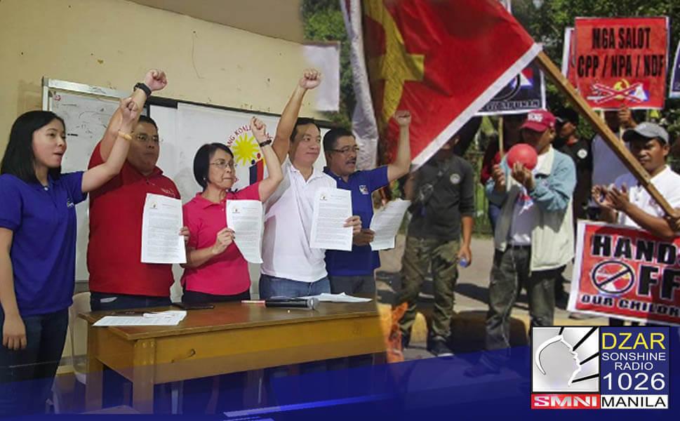 Hinamon muli ng National Task Force to End Local Communist Armed Conflict (NTF-ELCAC) ang Makabayan Bloc na kundenahin ang mga krimen na nagawa ng mga komunista sa bansa.