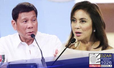 Nakadepende kay Pangulong Rodrigo Duterte ang desisyon kaugnay ng mungkahing infomercial kasama si Vice President Leni Robredo.
