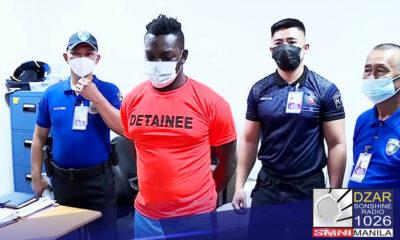 Naaresto ng Airport Police Department (APD) ang isang Nigerian national na isang mastermind ng honey love scam.