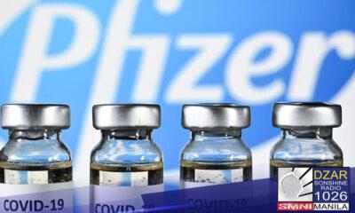 Pilipinas, bibili ng maraming doses ng Pfizer COVID-19 vaccines para sa mga kabataan - Malacañang