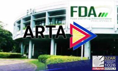 Director ng FDA, pinakakasuhan ng Anti-Red Tape office
