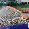 Trash traps sa Maricaban Creek sa Pasay City, handa na sa tag-ulan